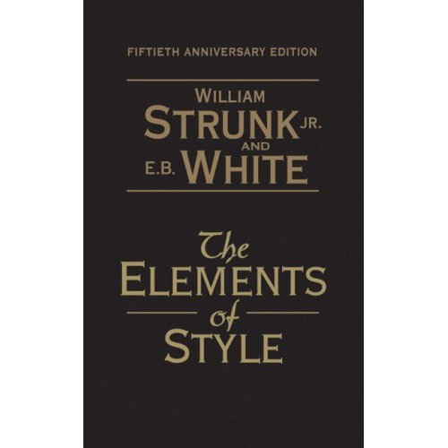 Elements Of Style - 50th Anniversary Edition