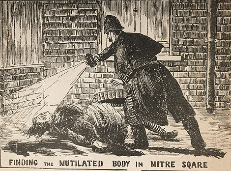 Finding the Mutilated Body in Mitre Square